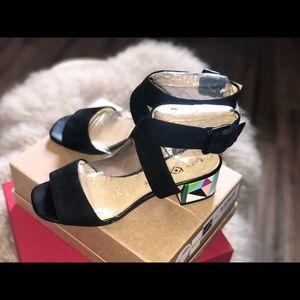 Katy Perry Black Ankle Heels